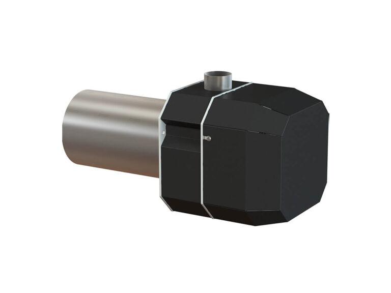 Palnik na pellet ROTARY 10-50 kW - tył