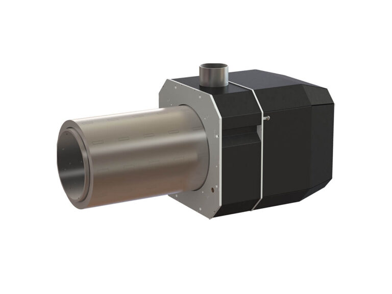 Palnik na pellet ROTARY 15-70 kW - przód