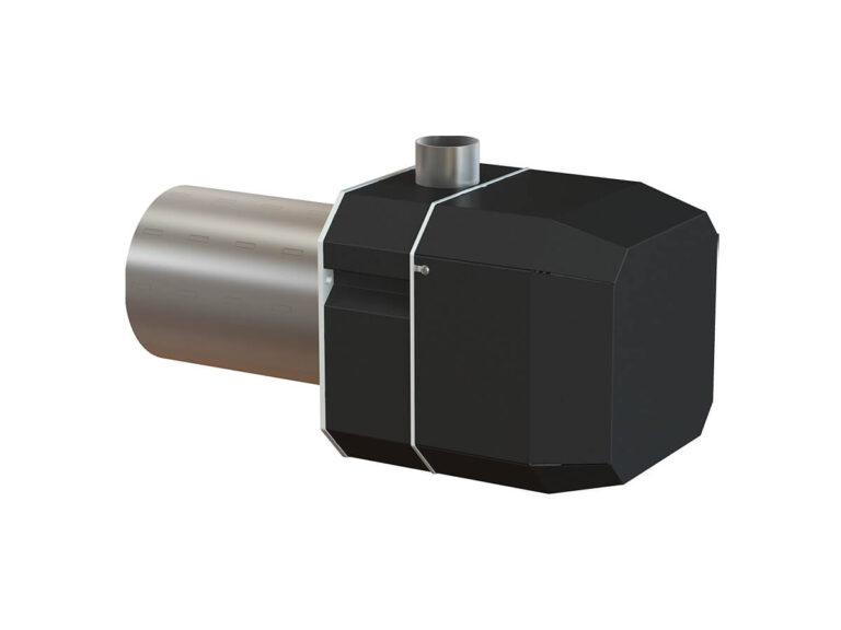 Palnik na pellet ROTARY 15-70 kW - tył