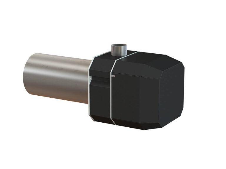 Palnik na pellet ROTARY 20-100 kW - tył