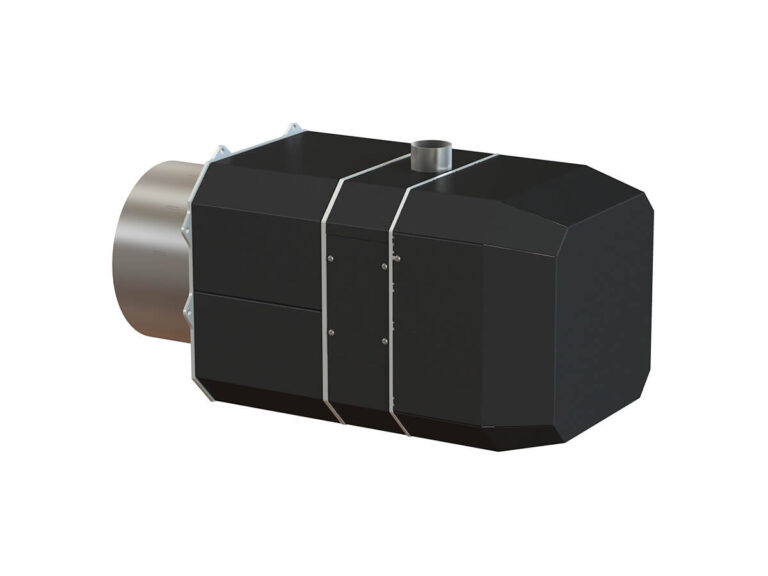 Palnik na pellet ROTARY 35 -200 kW - tył