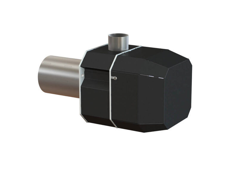 Palnik na pellet ROTARY 5-20 kW - tył