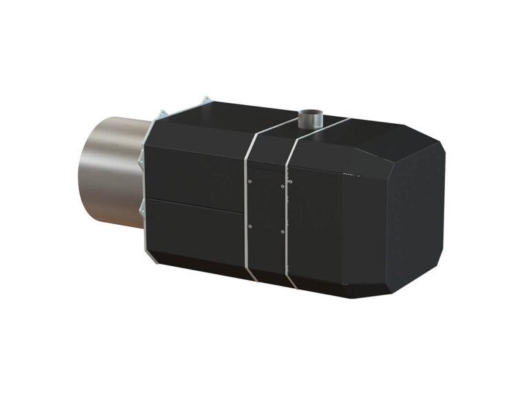 Palnik na pellet ROTARY 50 -250 kW - tył