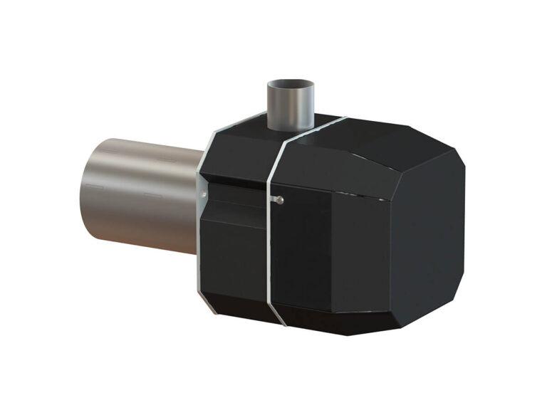 Palnik na pellet ROTARY 6-26 kW - tył