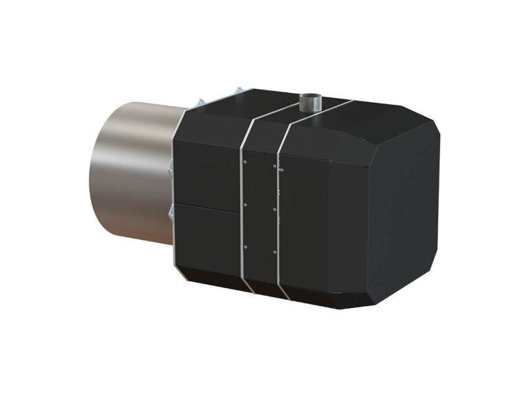 Palnik na pellet ROTARY 70 -300 kW - tył