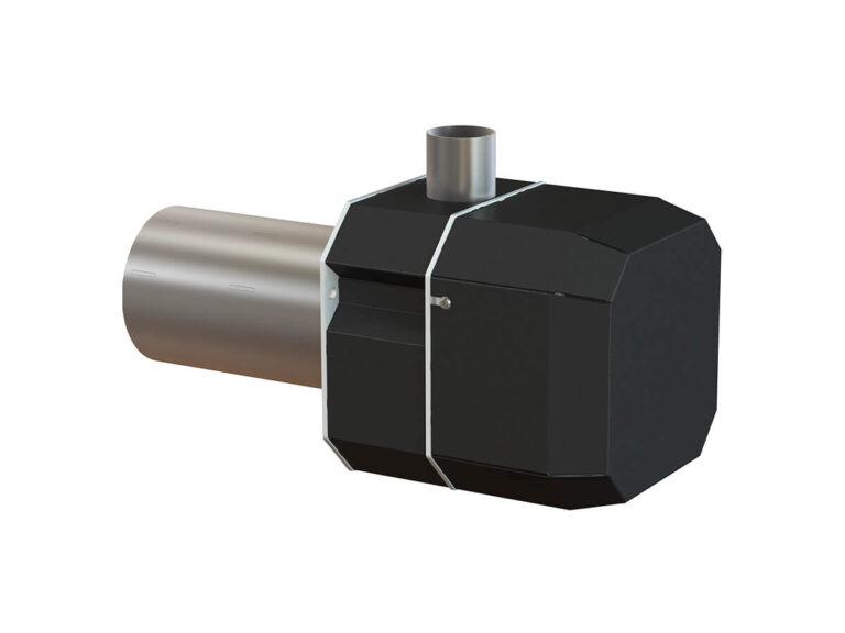 Palnik na pellet ROTARY 8-36 kW - tył