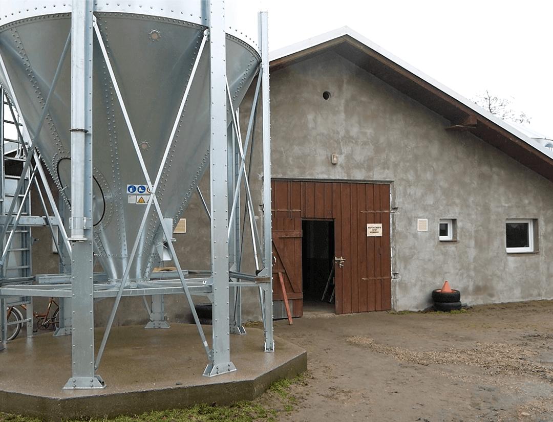 Zastosowanie nagrzewnicy powietrza VENTURA - Kurnik w Braniewie